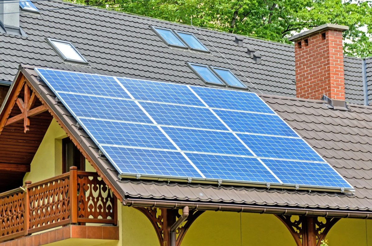 Solarni paneli energetski efikasan objekat
