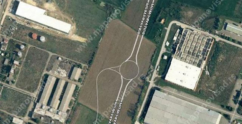 Industrijska zona Novi Sad placevi