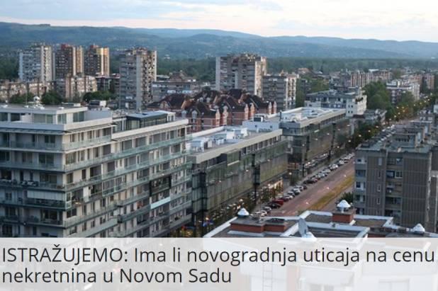 ISTRAŽUJEMO: Ima li novogradnja uticaj na cene nekretnine u Novom Sadu [Intervju Ivan Radulović SOLIS nekretnine]