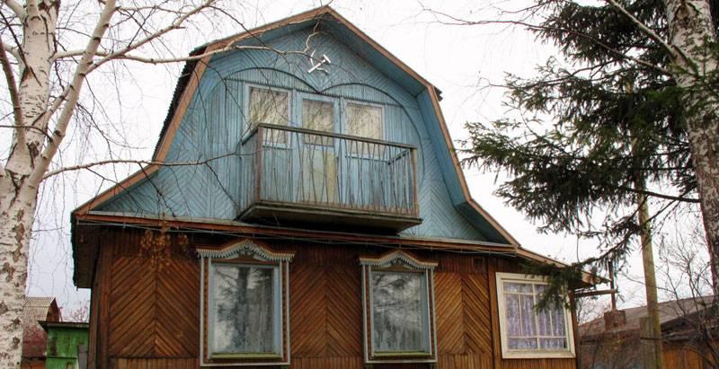 Dača - tradicionalna ruska kuća za odmor