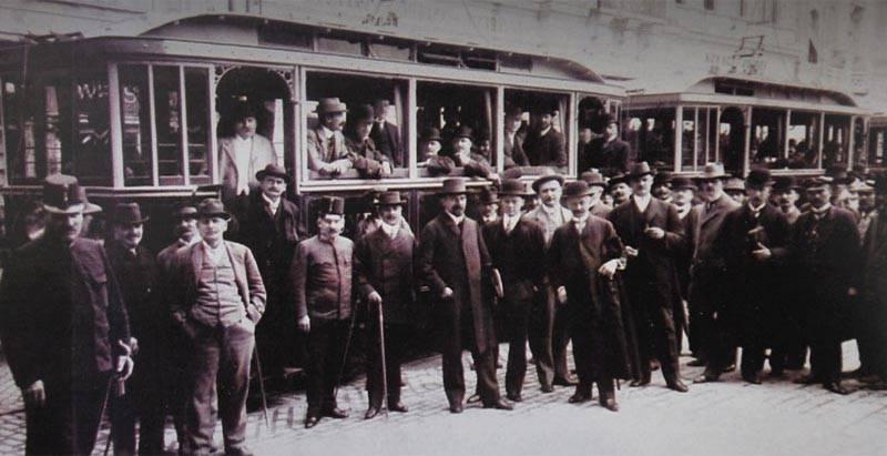 Prvi tramvaji u Novom Sadu