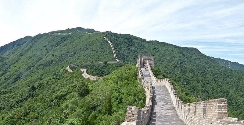 Kako je građen Kineski zid